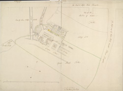 [Plan of Park Lane to Half Moon Street]